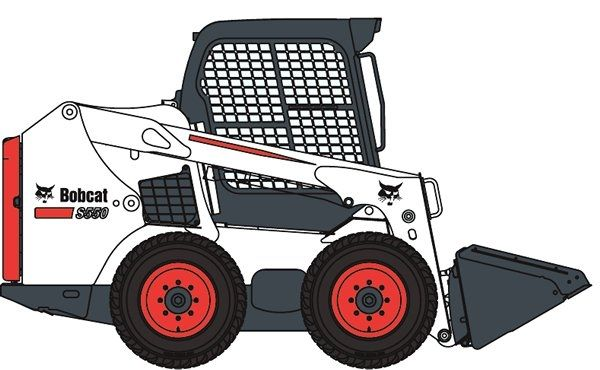 Bobcat clipart machine. Skid steer loader s