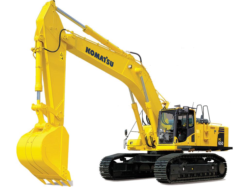 Excavator clipart construction machine. Excavators komatsu america corp
