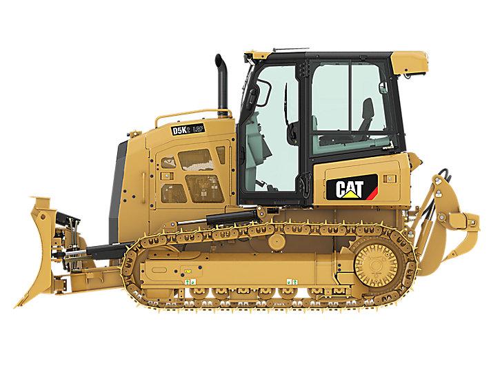 Bulldozer tractor caterpillar