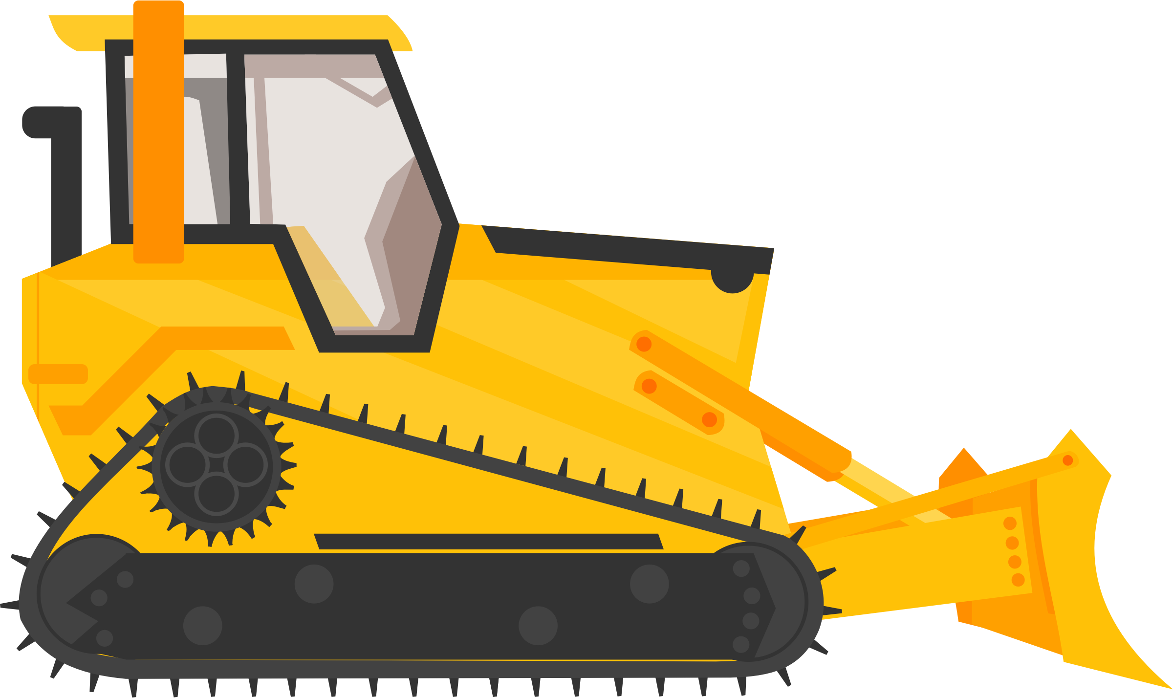 Bulldozer icons png free. Backhoe clipart back hoe