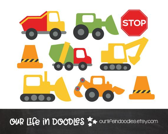 Free Construction Equipment Clipart in AI, SVG, EPS or PSD