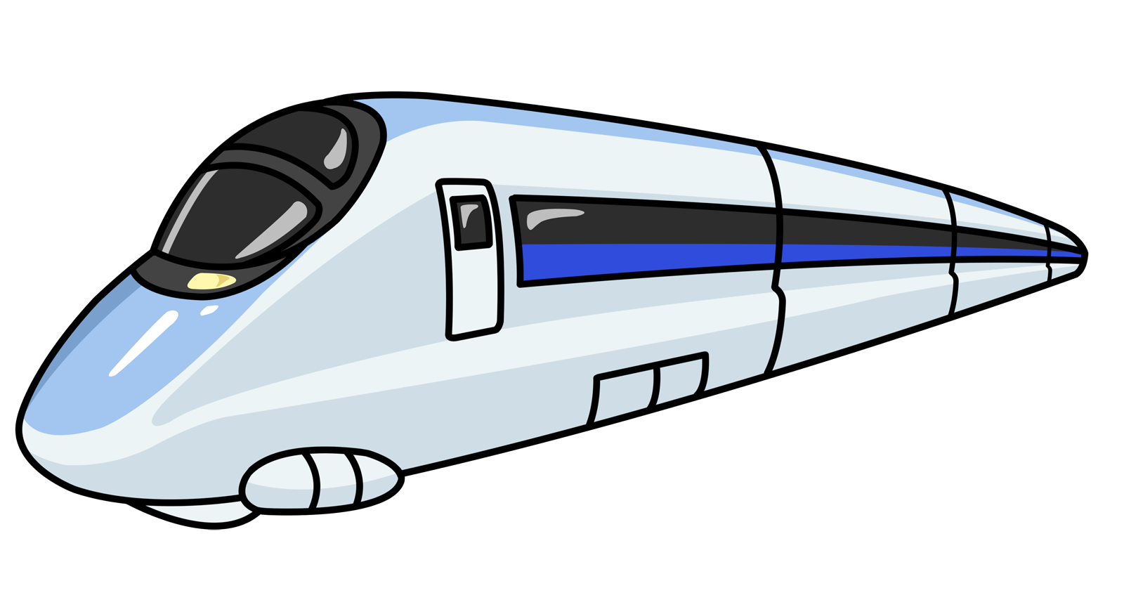 Fast clipart speed. Bullet train