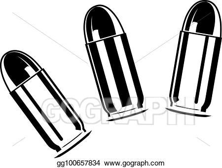Vector set of bullets. Bullet clipart clip art