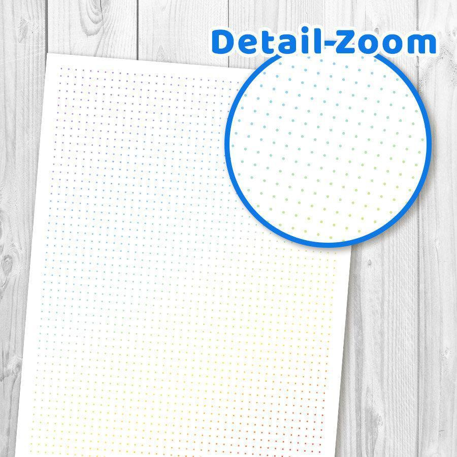 Bullet clipart dot. Colored grid journal printable