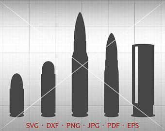Svg etsy vector dxf. Bullet clipart file