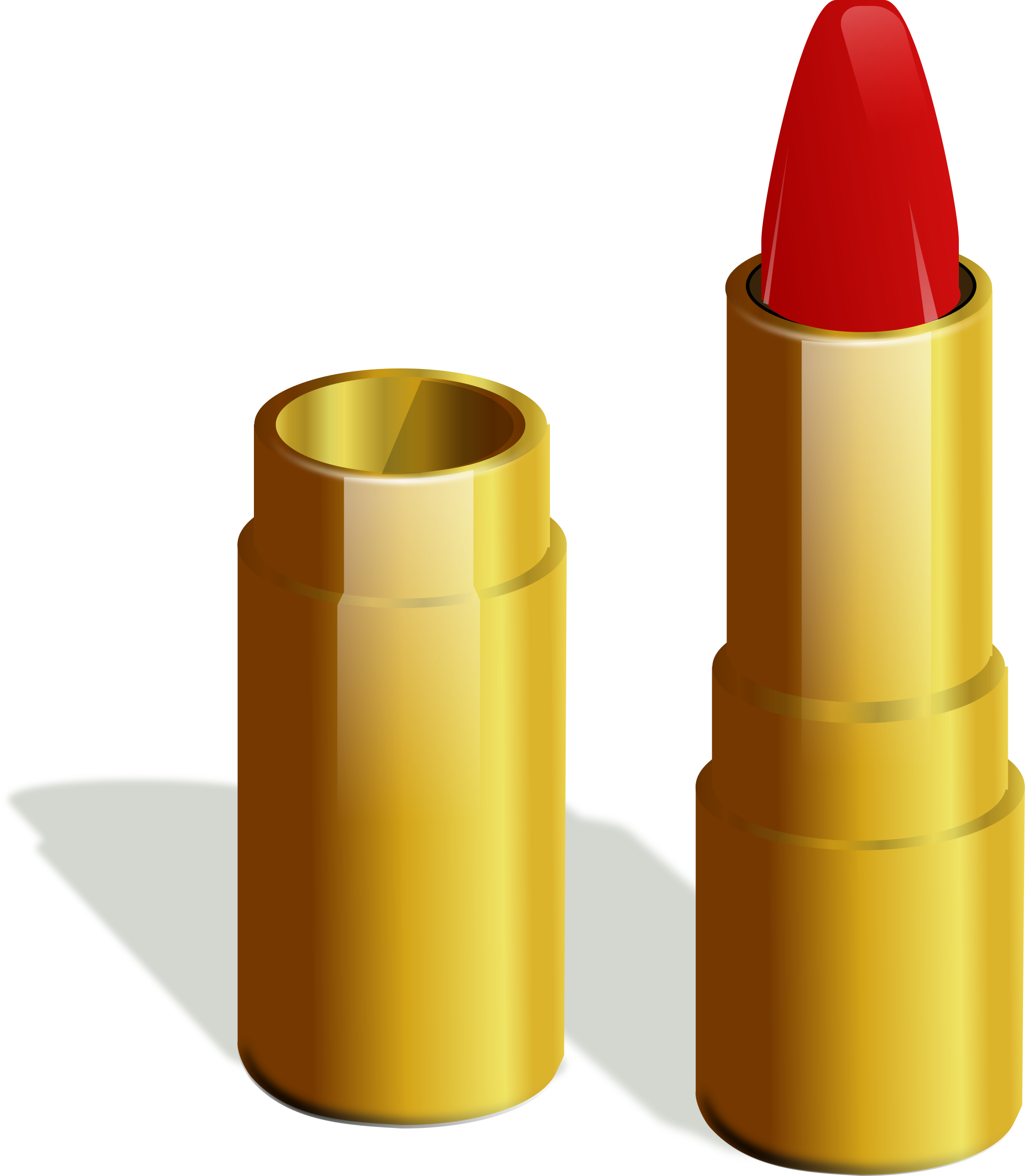 Big image png. Lipstick clipart gold lipstick