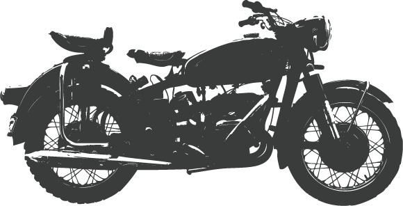 Bike vector free download. Bullet clipart motorbike