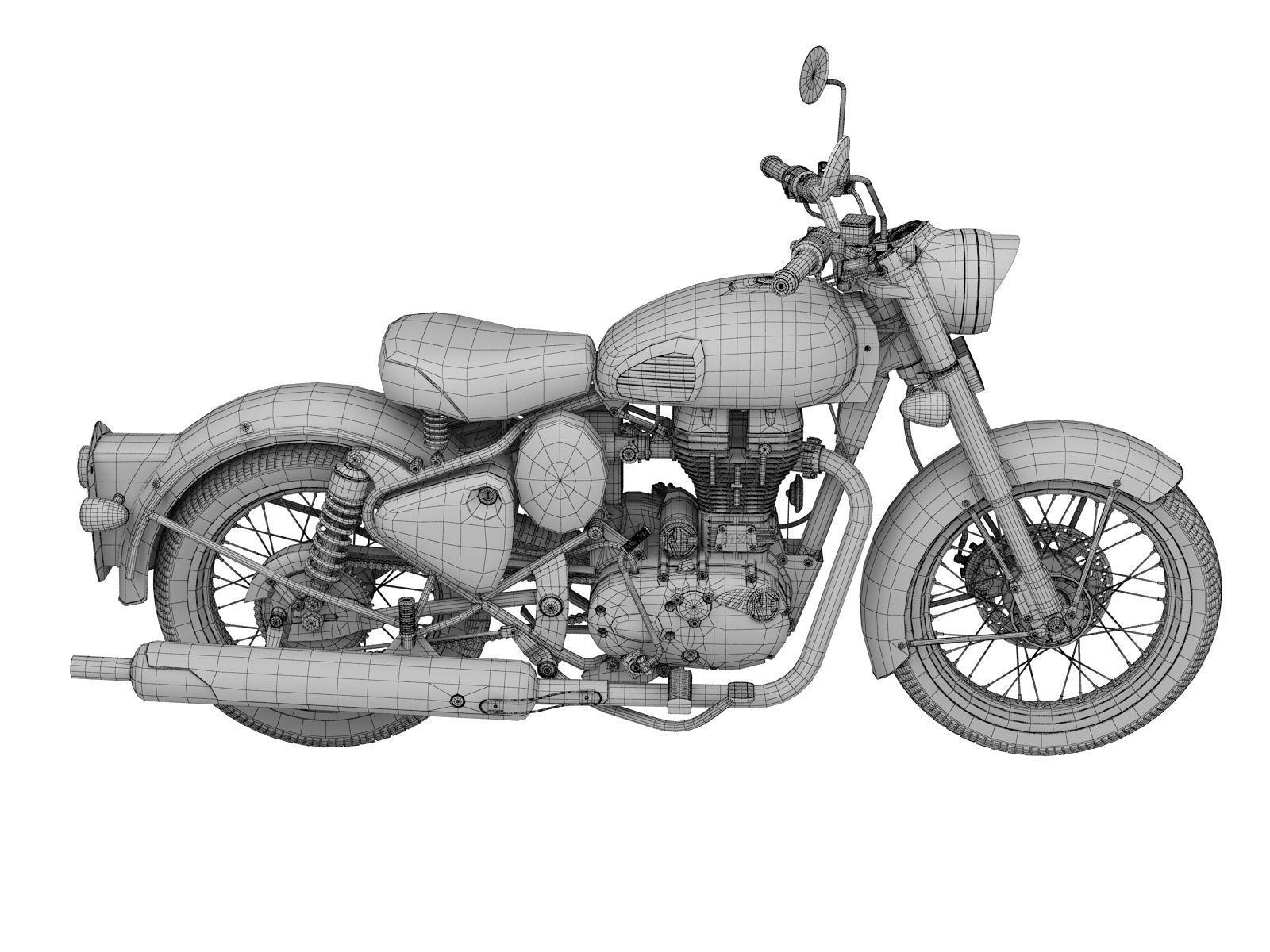 Bullet clipart motorbike.  d royal enfield