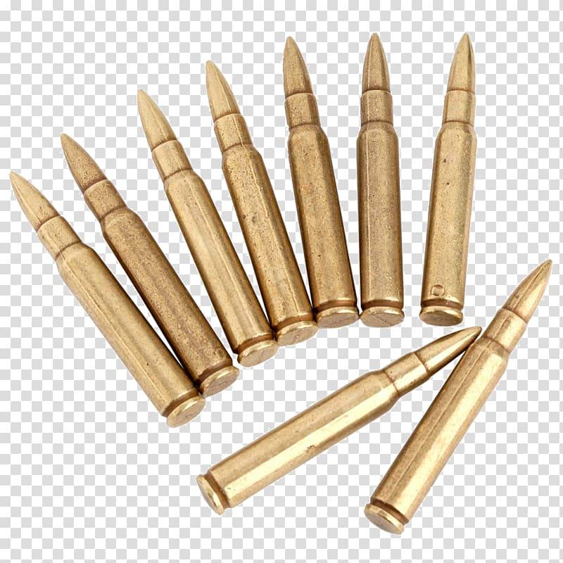 Ammunition dummy round firearm. Bullet clipart rifle bullet
