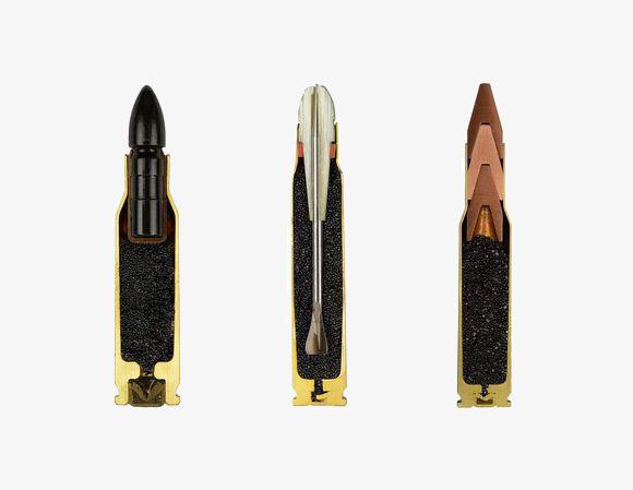 Bullets cutout section png. Bullet clipart rifle bullet