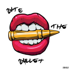 Bite the by lydia. Bullet clipart single