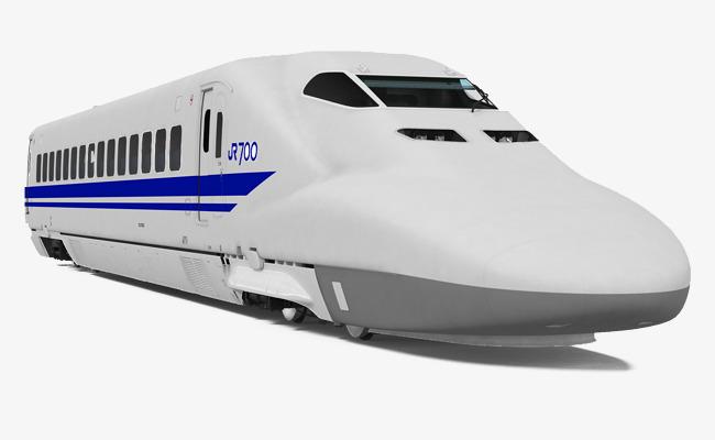 White high train rail. Bullet clipart speed