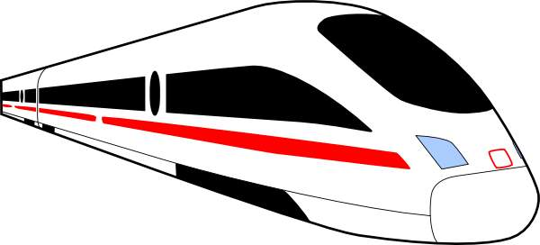 Clipart train modern. Free bullet cliparts download
