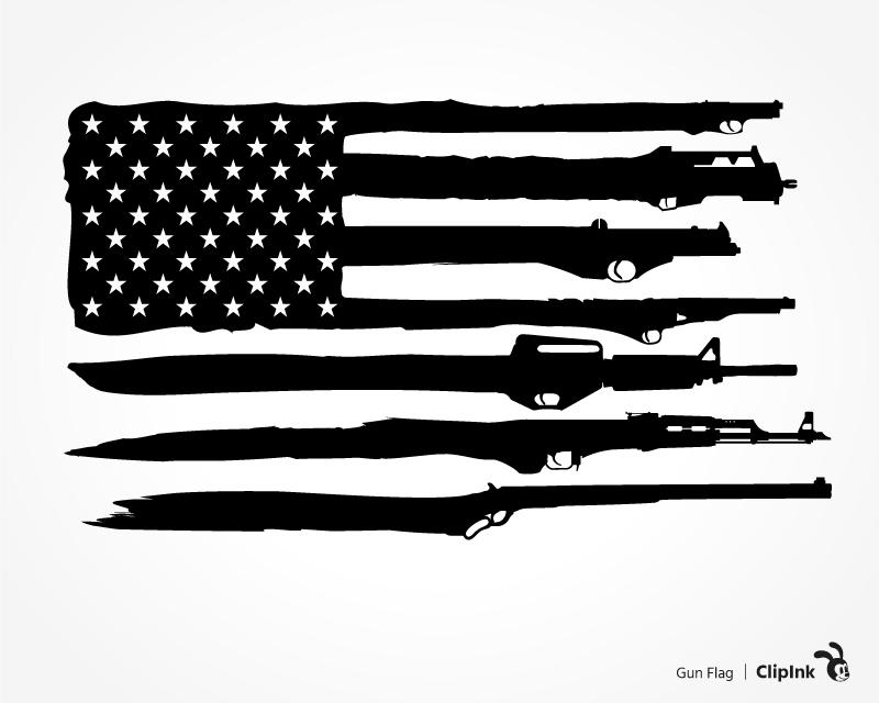 Bullet clipart svg. Gun flag png eps