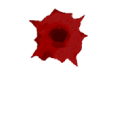 Bullet hole blood png. Bloody roblox graphic freeuse