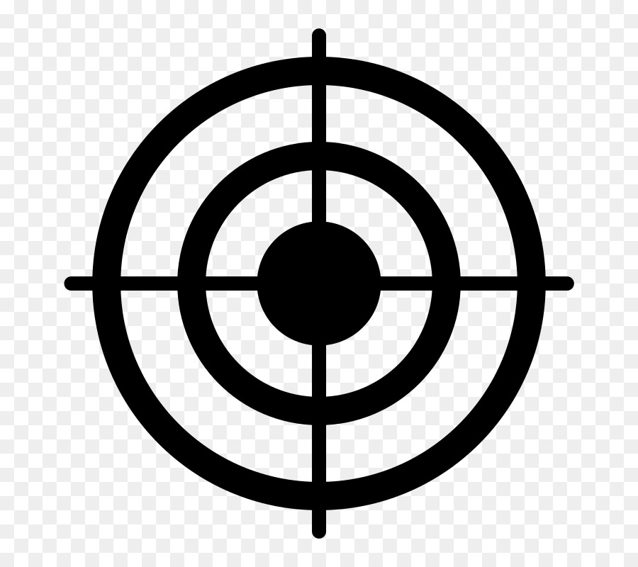 Bullseye clipart. Shooting target clip art
