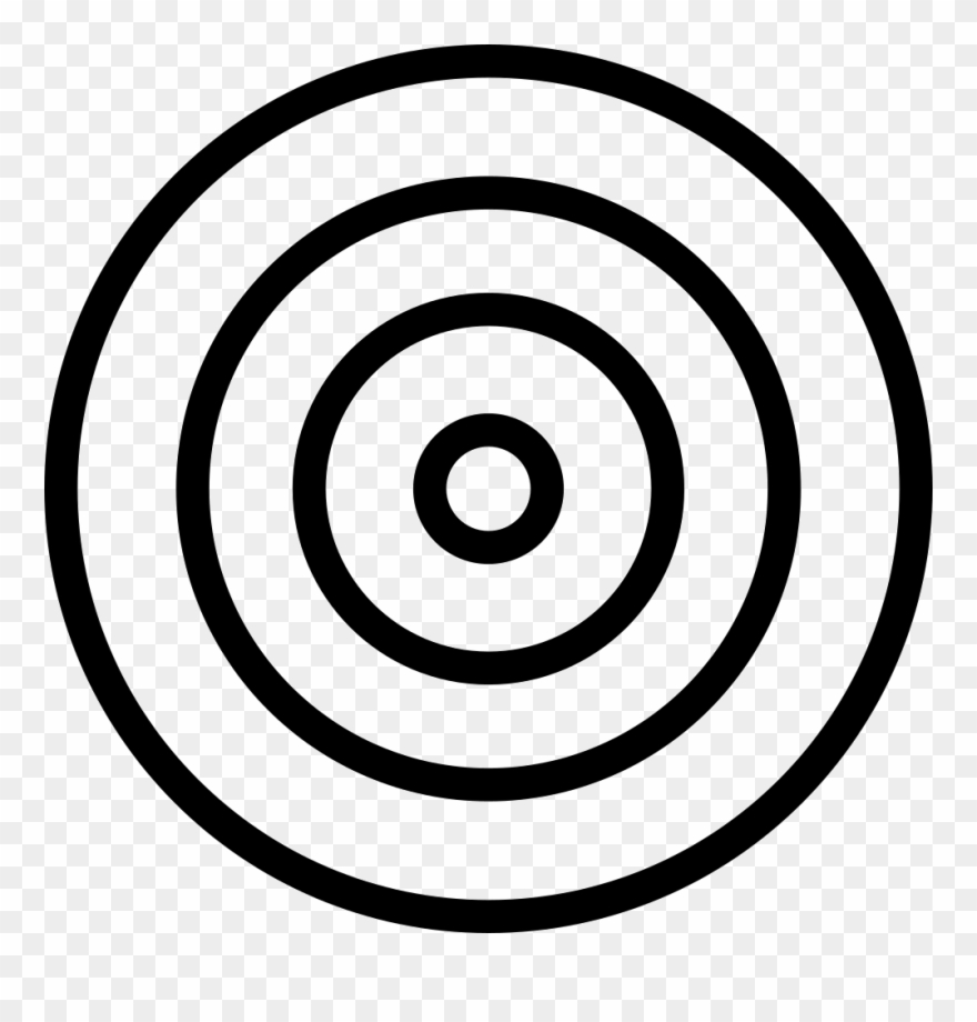 Transparent png picture freeuse. Bullseye clipart