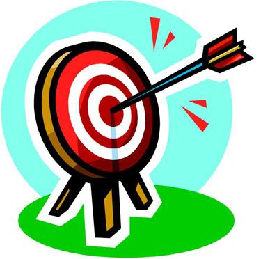 Target clip art panda. Bullseye clipart