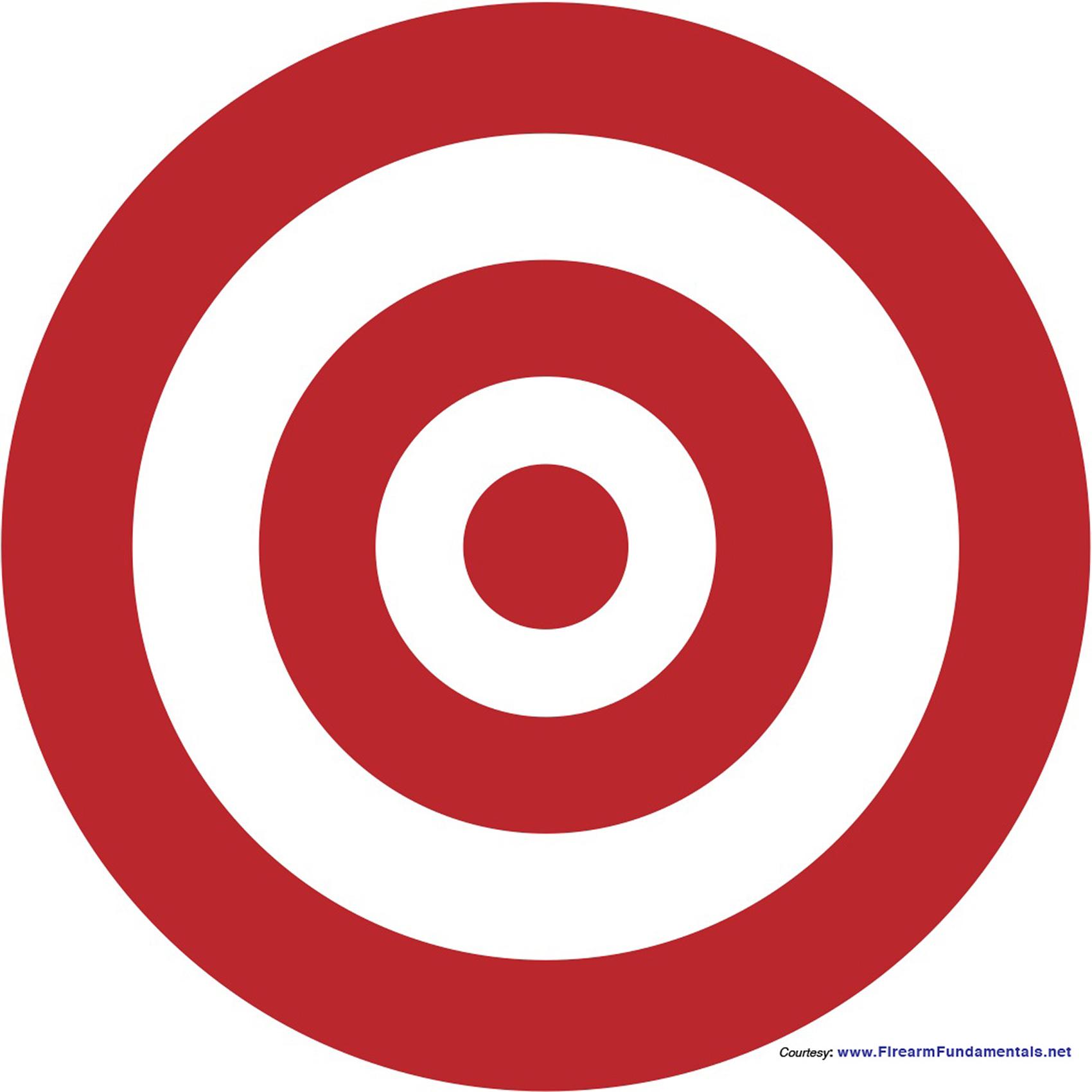 Bullseye clipart.  clipartlook