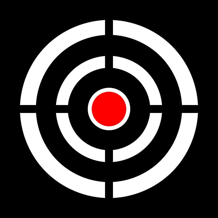 Goals clipart bullseye. Free png target transparent