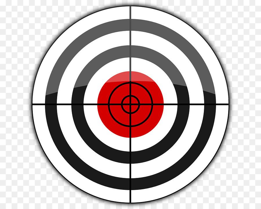 Shooting target goal clip. Bullseye clipart aim