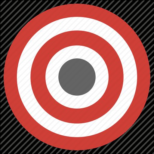 Bullseye clipart aim. Flat fitness sport pack