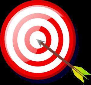 Bullseye clipart aim. Cliparts zone