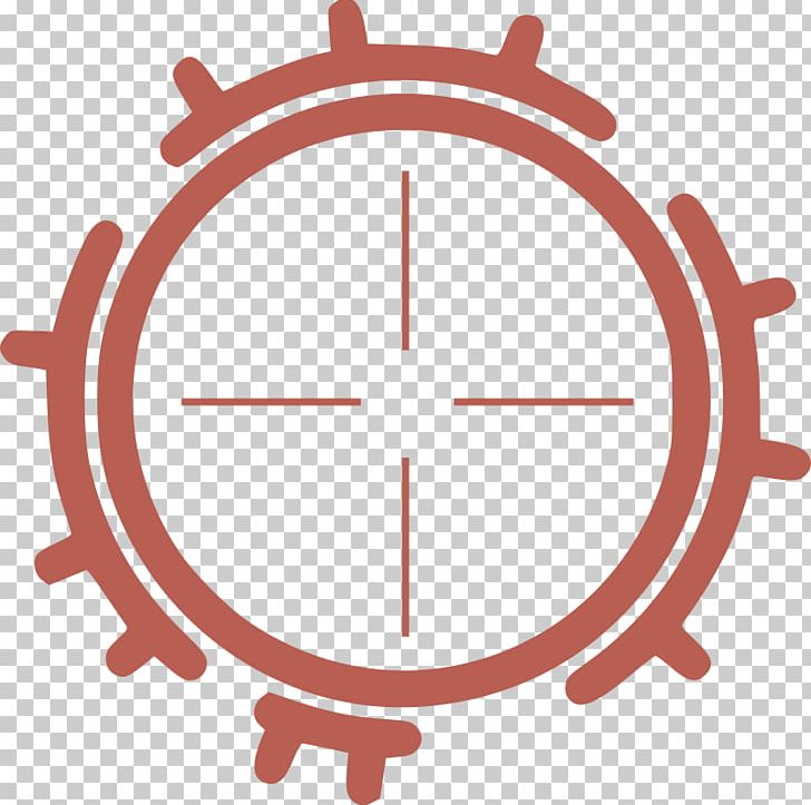 Computer icons shooting target. Bullseye clipart aim