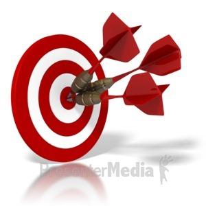 Custom year at presentermedia. Bullseye clipart animated