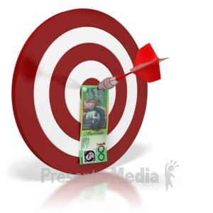 Bullseye clipart animated. Funnel on business and