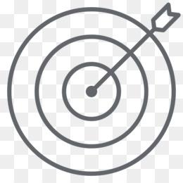 Shooting target youtube clip. Bullseye clipart black and white