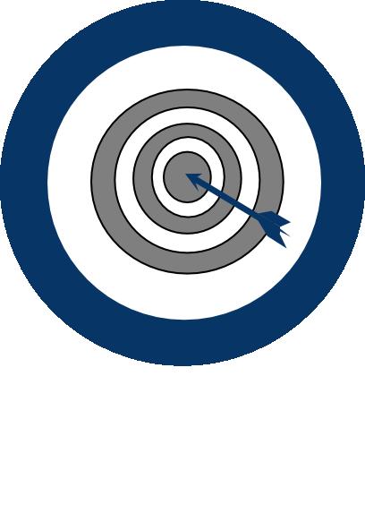 Bullseye clipart blue. Bulls eye clip art