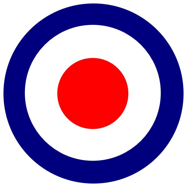 Clip art at clker. Bullseye clipart blue