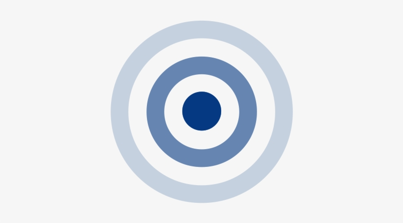 Bullseye clipart blue. And white png image