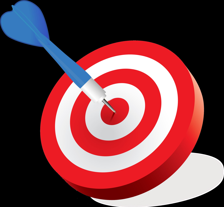 Bullseye clipart bulls eye. Goal shooting target clip