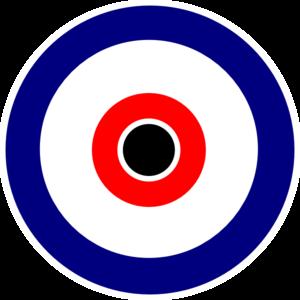 Bullseye clipart bulls eye. Black center clip art
