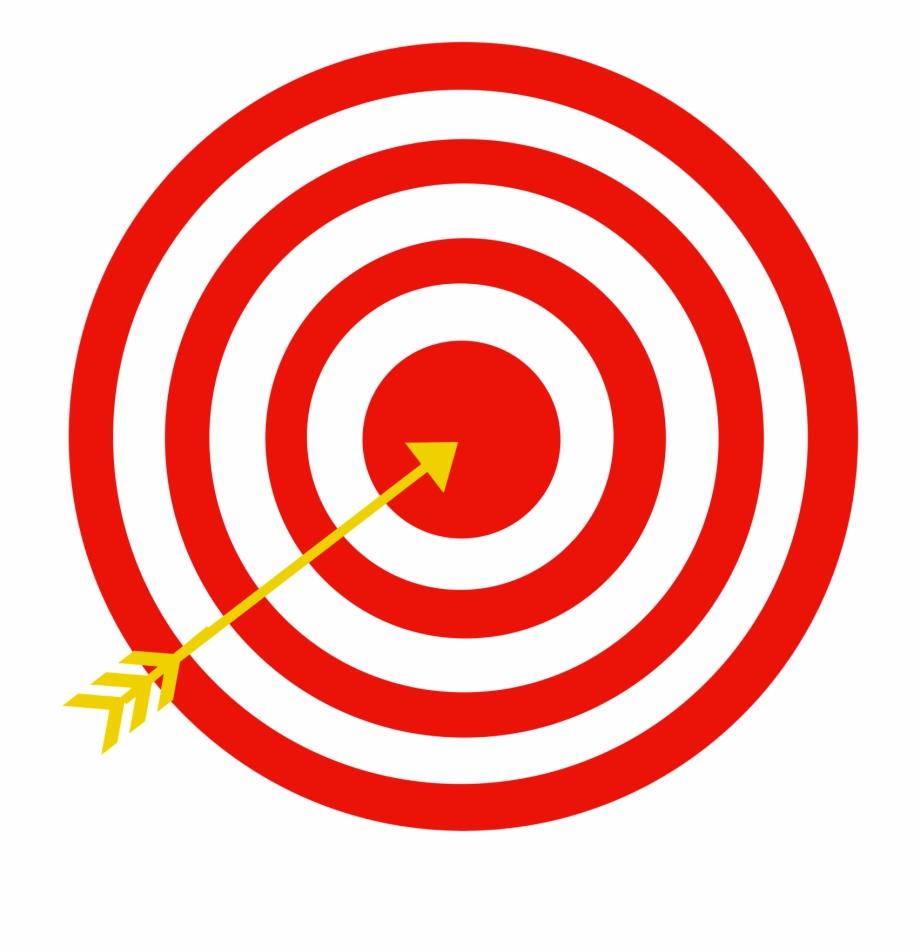 Target arrow bull s. Bullseye clipart bulls eye
