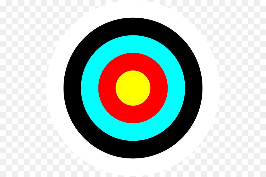 Bullseye clipart cartoon. Archery circle