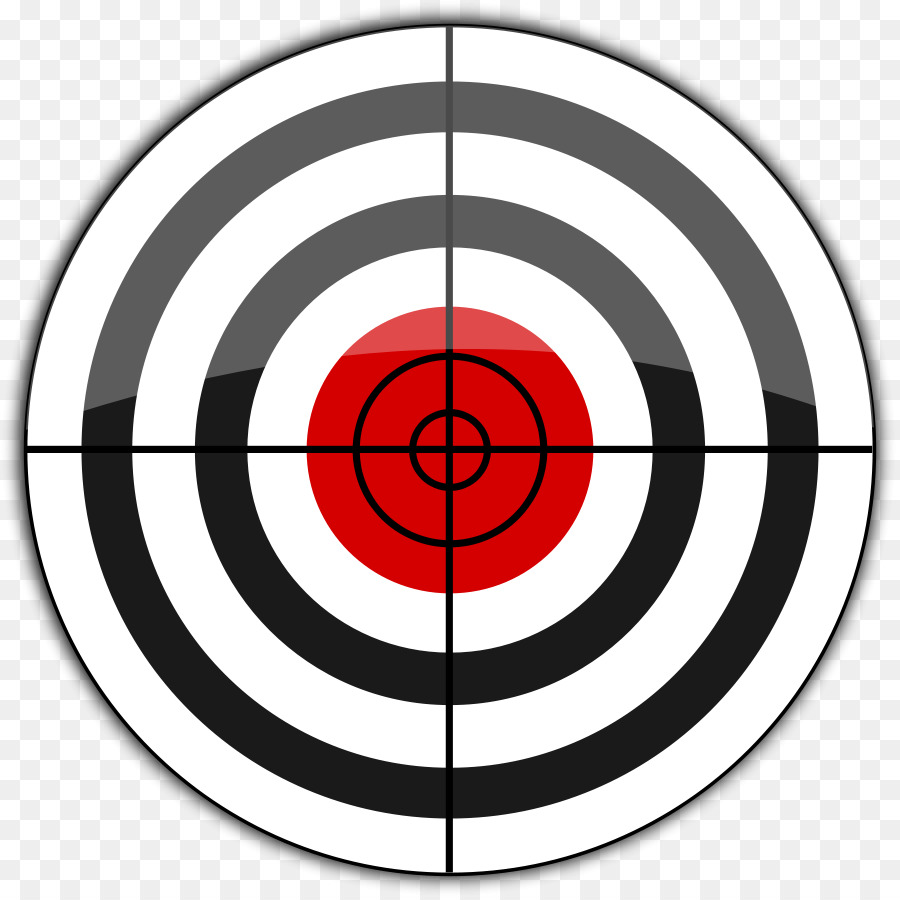 Goal idea shooting sports. Bullseye clipart clip art