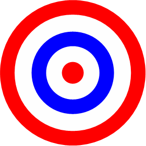 File colored png wikipedia. Bullseye clipart colorful