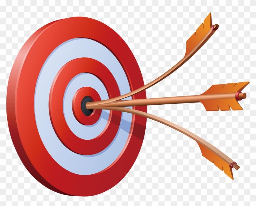 Bullseye clipart dart. Image royalty free arrow