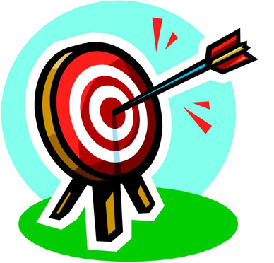 Bullseye clipart focus. Target clip art panda
