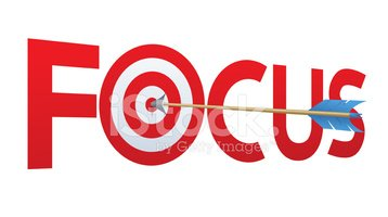 Bullseye clipart focus. Arrow stock vectors me