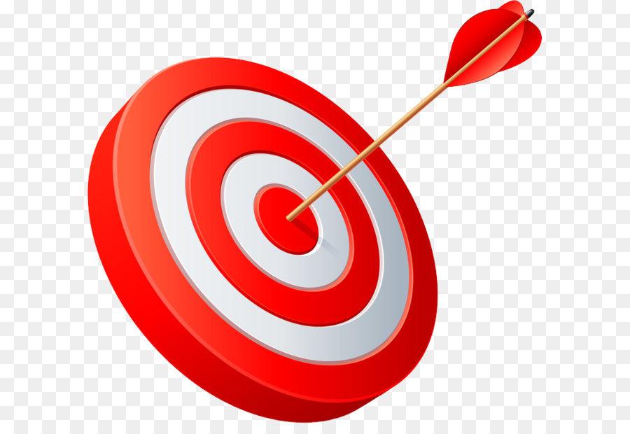 Arrow target corporation clip. Bullseye clipart focus