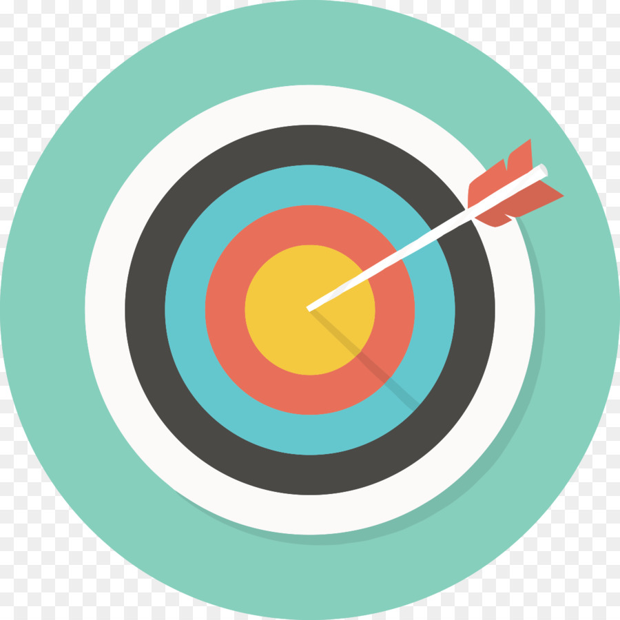 Computer icons darts shooting. Bullseye clipart goal