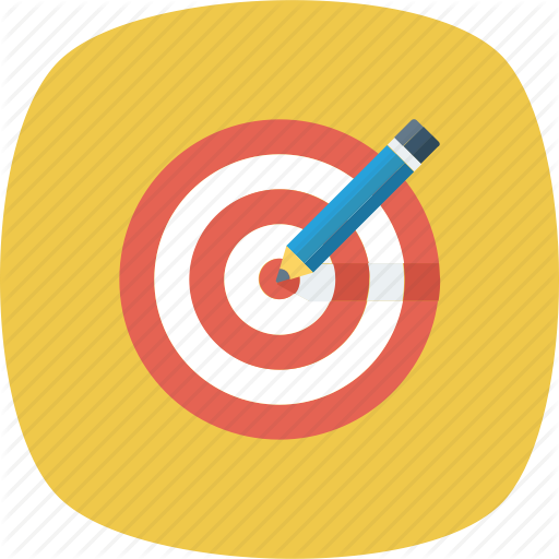 Iconfinder web design development. Bullseye clipart goal