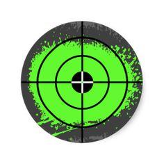 bullseye clipart laser tag