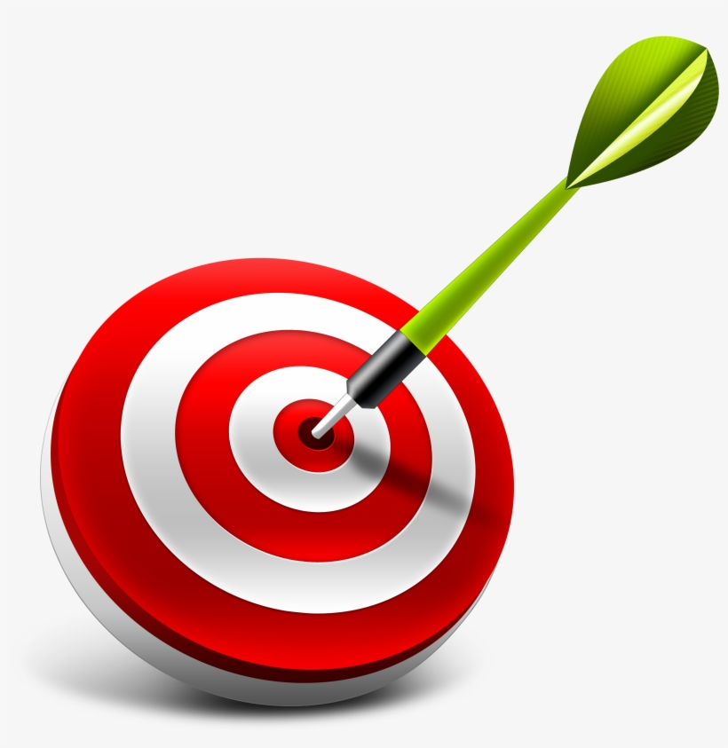 Bullseye clipart objective. Target logo png free