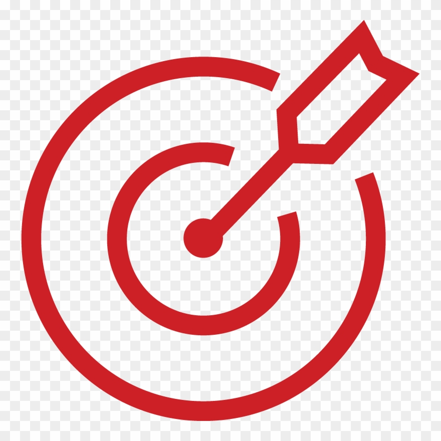 Bullseye clipart objective. A worthy target icon