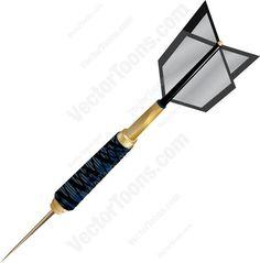 Bullseye clipart perfection. Dark colored dart board